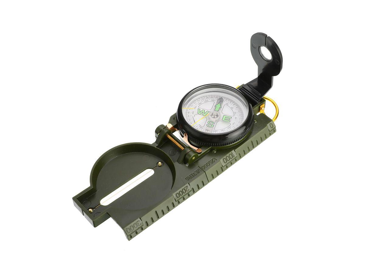 Bússola Militar Lensatic ZNZ1  - Comprando & Pescando
