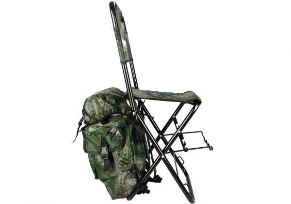Cadeira Dobrável Com Mochila E Porta Varas Marine Sports  - Comprando & Pescando
