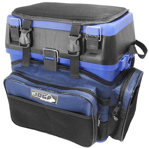 Caixa de Pesca Mochila Fishing Box Jogá Pesca (Verde ou Azul)  - Comprando & Pescando
