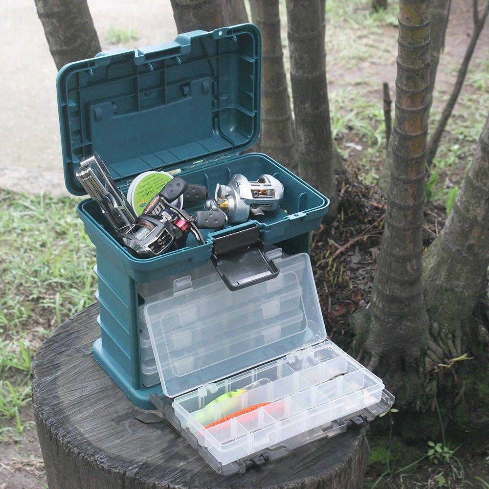 Caixa de Pesca Nautika MB1 com 4 estojos  - Comprando & Pescando