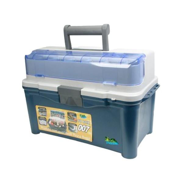 Caixa Pesca Brasil PB Box 007 Com 3 Estojos  - Comprando & Pescando