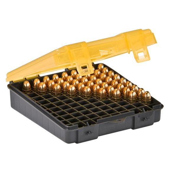 Caixa Plano 1224-00 para 100 Projéteis 9mm ou .38  - Comprando & Pescando