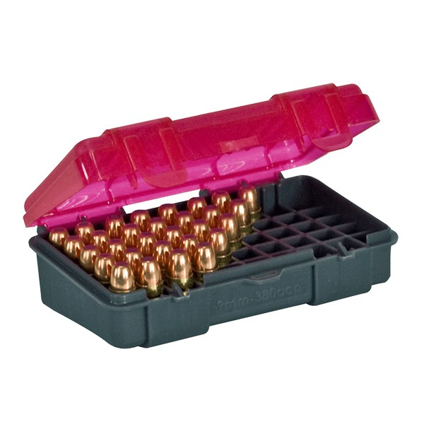 Caixa Plano 1224-50 para 50 Projéteis 9mm ou .38  - Comprando & Pescando
