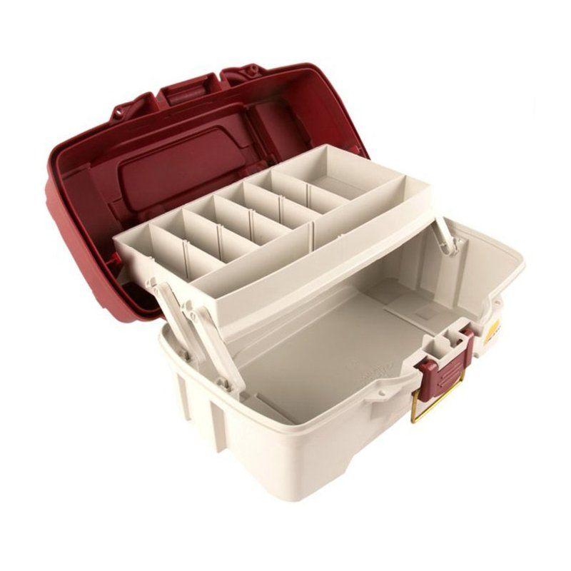 Caixa Plano 6201 com 1 bandeja  - Comprando & Pescando