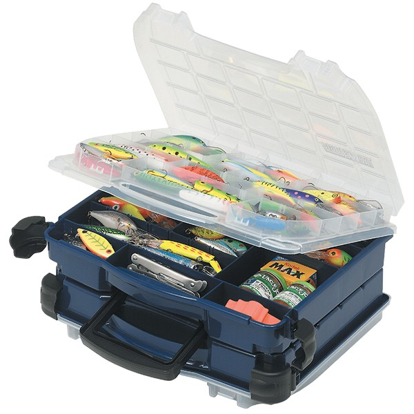Caixa Plano Dupla Tipo Maleta 3952-10  - Comprando & Pescando