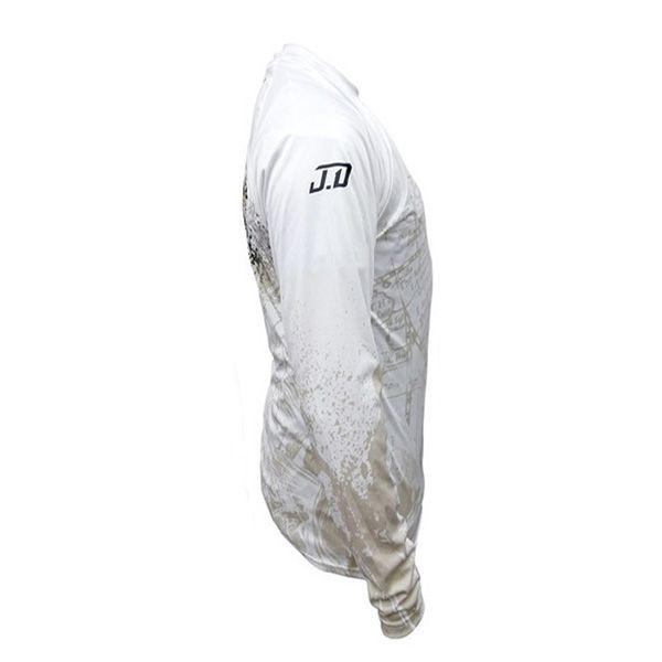 Camisa Joel Datena White Monster3x Fps 30 UV Filtro Solar  - Comprando & Pescando
