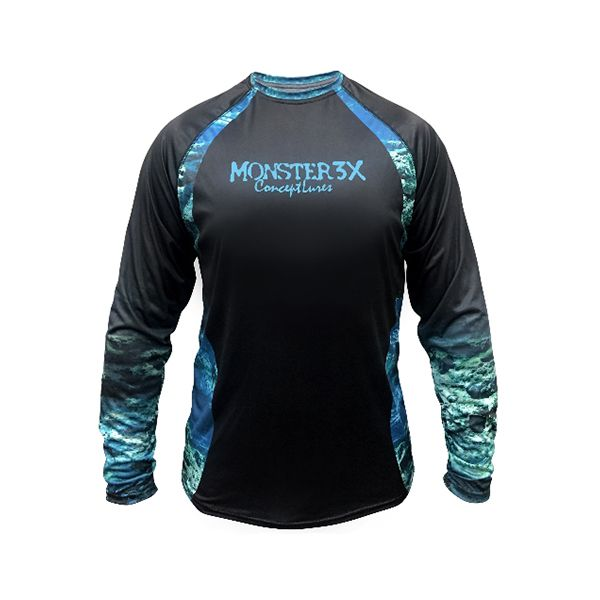 Camisa Monster 3X Casual Dry 201 - Nova Coleção  - Comprando & Pescando