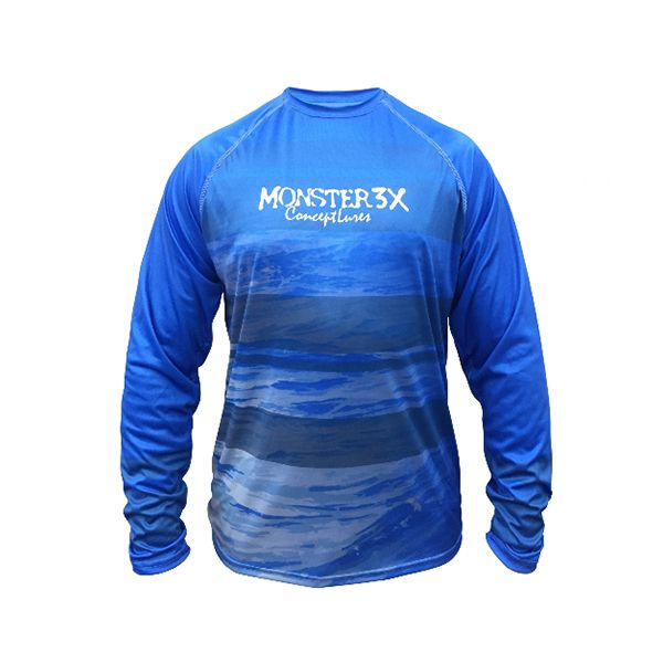 Camisa Monster 3X Casual Dry 203 - Nova Coleção  - Comprando & Pescando