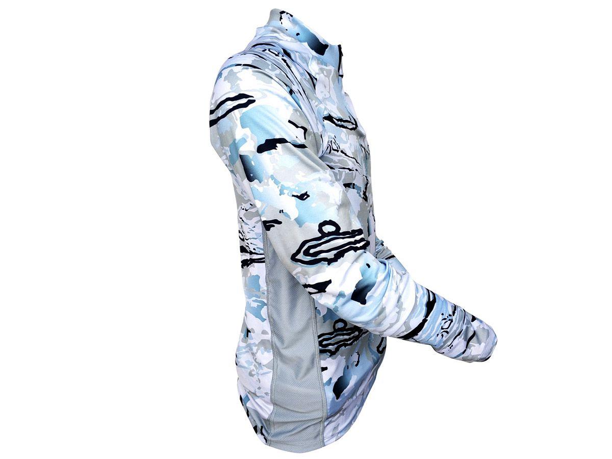 Camisa Monster 3X Free Comfort Blue  - Comprando & Pescando