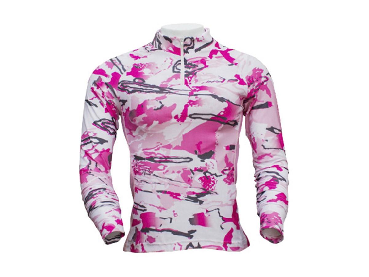 Camisa Monster 3X Free Confort Rosa  - Comprando & Pescando