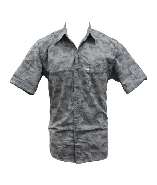 Camisa MTK Tucuna Cinza  - Comprando & Pescando