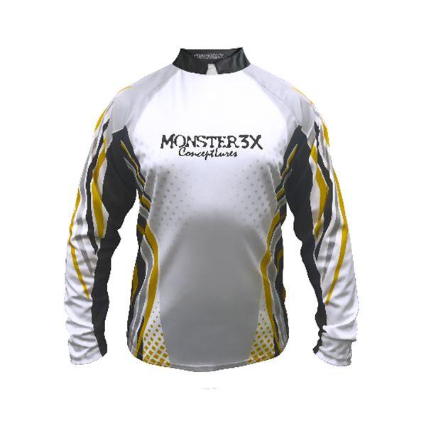 Camisa New Fish 01 Monster 3X - Nova Coleção  - Comprando & Pescando