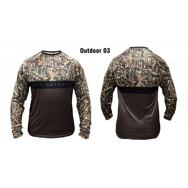 Camisa Outdoor 03 Monster 3X   - Comprando & Pescando