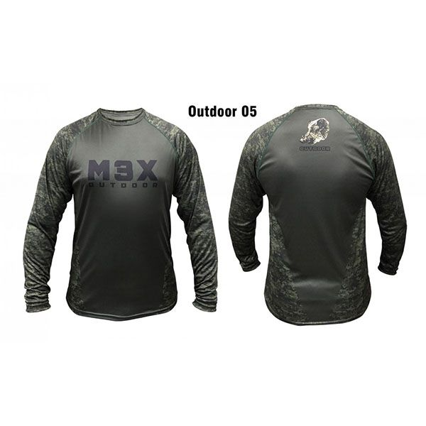 Camisa Outdoor 05 Monster 3X   - Comprando & Pescando
