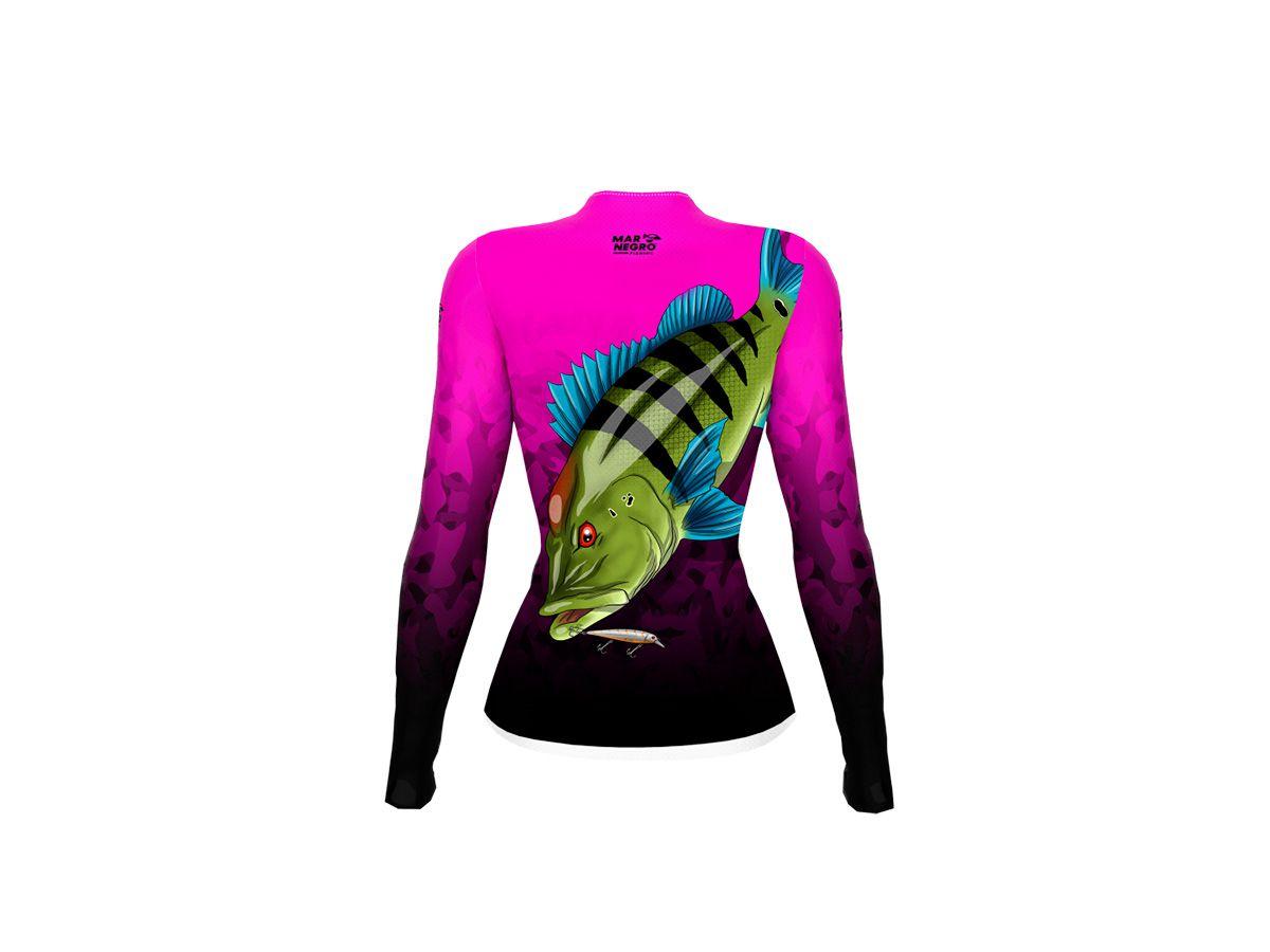 Camiseta Feminina Mar Negro Fishing 2020 (Várias Estampas)  - Comprando & Pescando