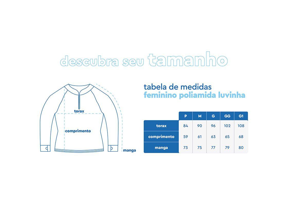 Camiseta Feminina Mar Negro Fishing Poliamida - Rosa  - Comprando & Pescando