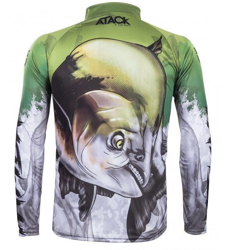 Camiseta King Sublimada Attack 05 Tamba  - Comprando & Pescando