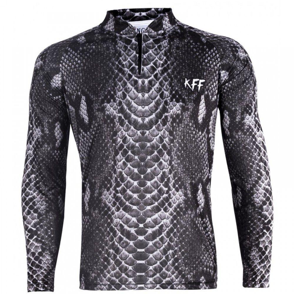 Camiseta King Sublimada Cobra (KFF70)  - Comprando & Pescando
