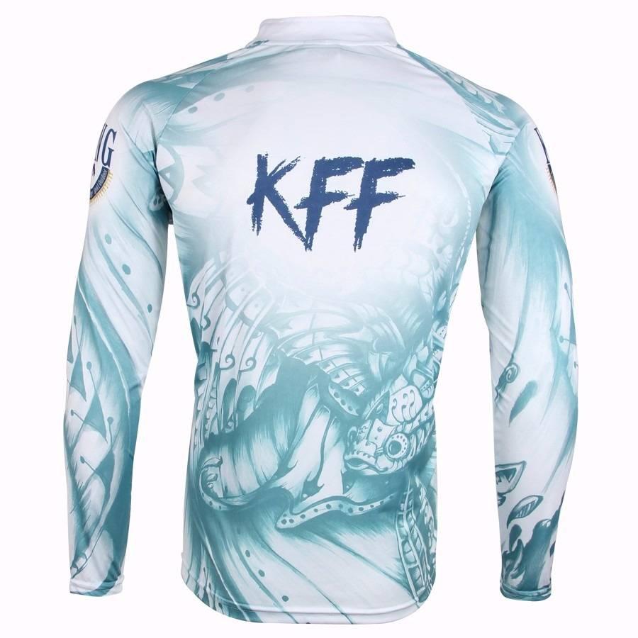 Camiseta King Sublimada (KFF51)  - Comprando & Pescando