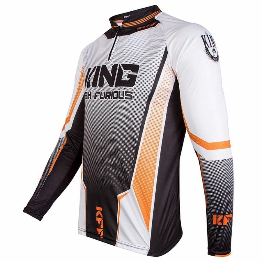 Camiseta King Sublimada (KFF54)  - Comprando & Pescando