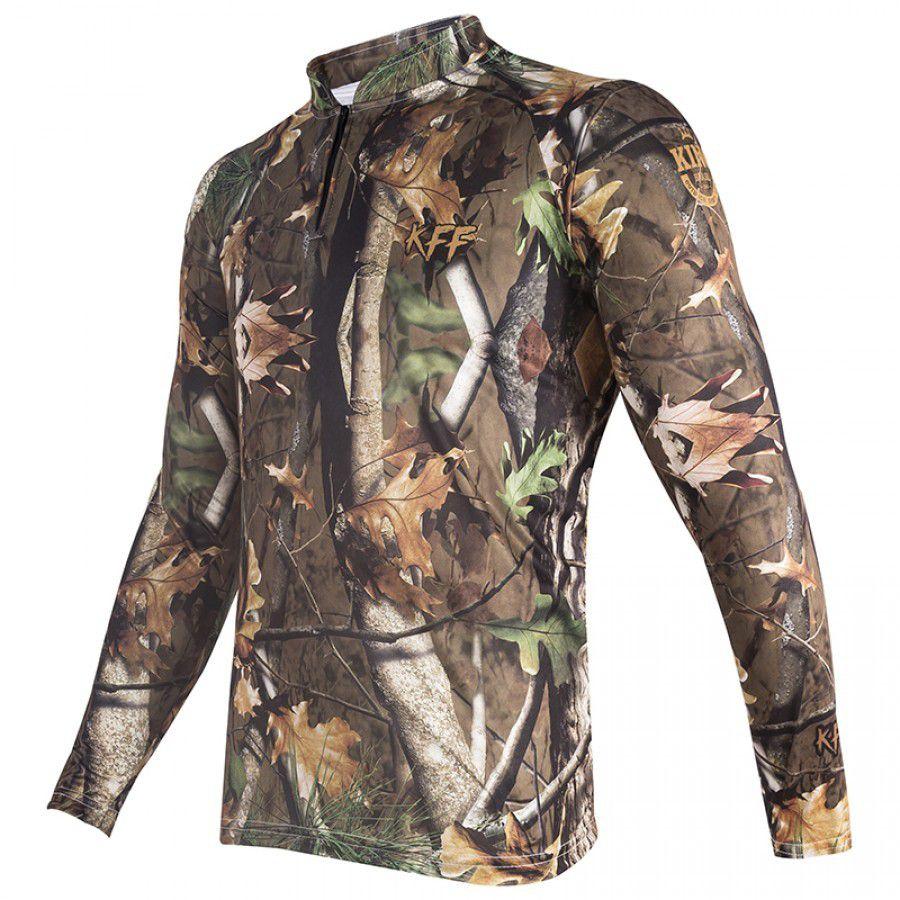 Camiseta King Sublimada Folhas Secas (KFF69)  - Comprando & Pescando