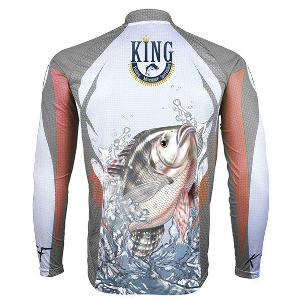 Camiseta King Sublimada Tilápia (KFF21)  - Comprando & Pescando