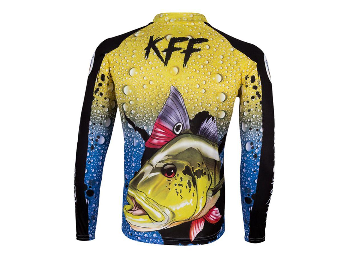 Camiseta King Sublimada Tucunare (KFF60)  - Comprando & Pescando