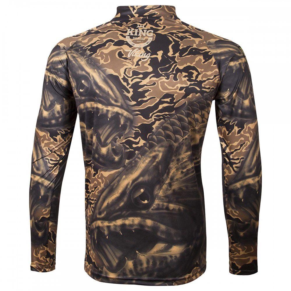 Camiseta King Sublimada Viking 04 Traira  - Comprando & Pescando