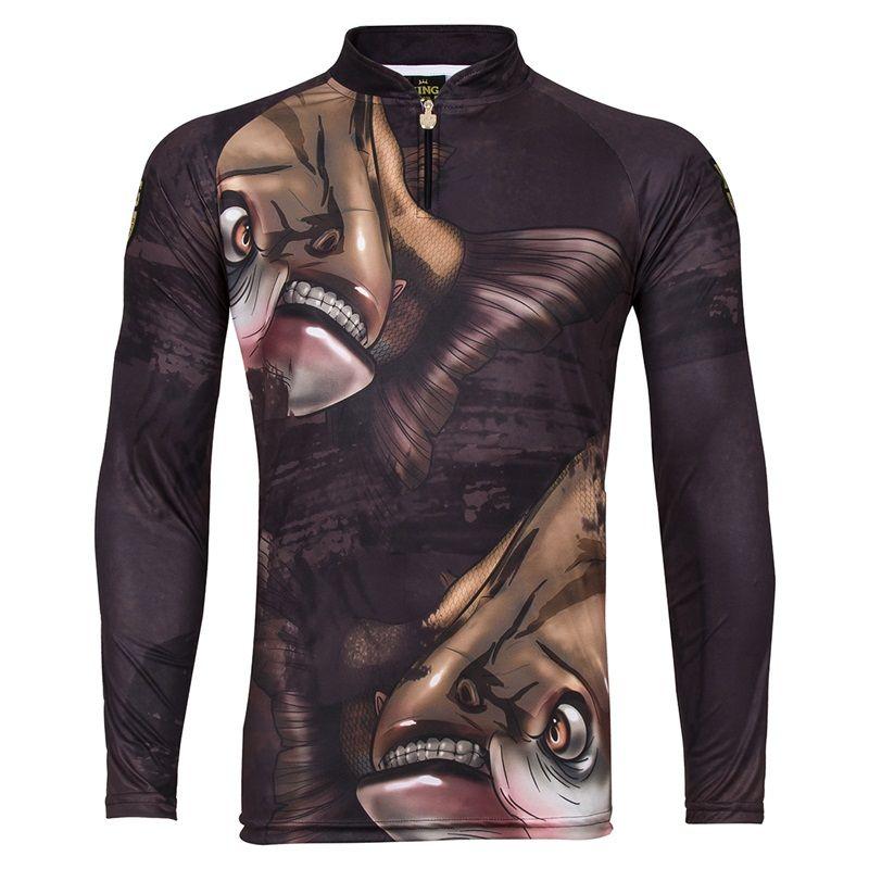 Camiseta King Sublimada Viking 05 Tamba  - Comprando & Pescando