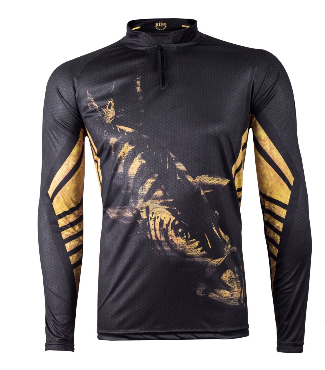 Camiseta King Sublimada Viking 10 Tucunaré  - Comprando & Pescando