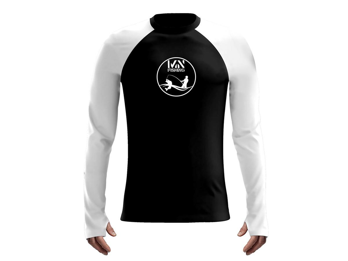 Camiseta Mar Negro Fishing Poliamida Colors Pescador  - Comprando & Pescando