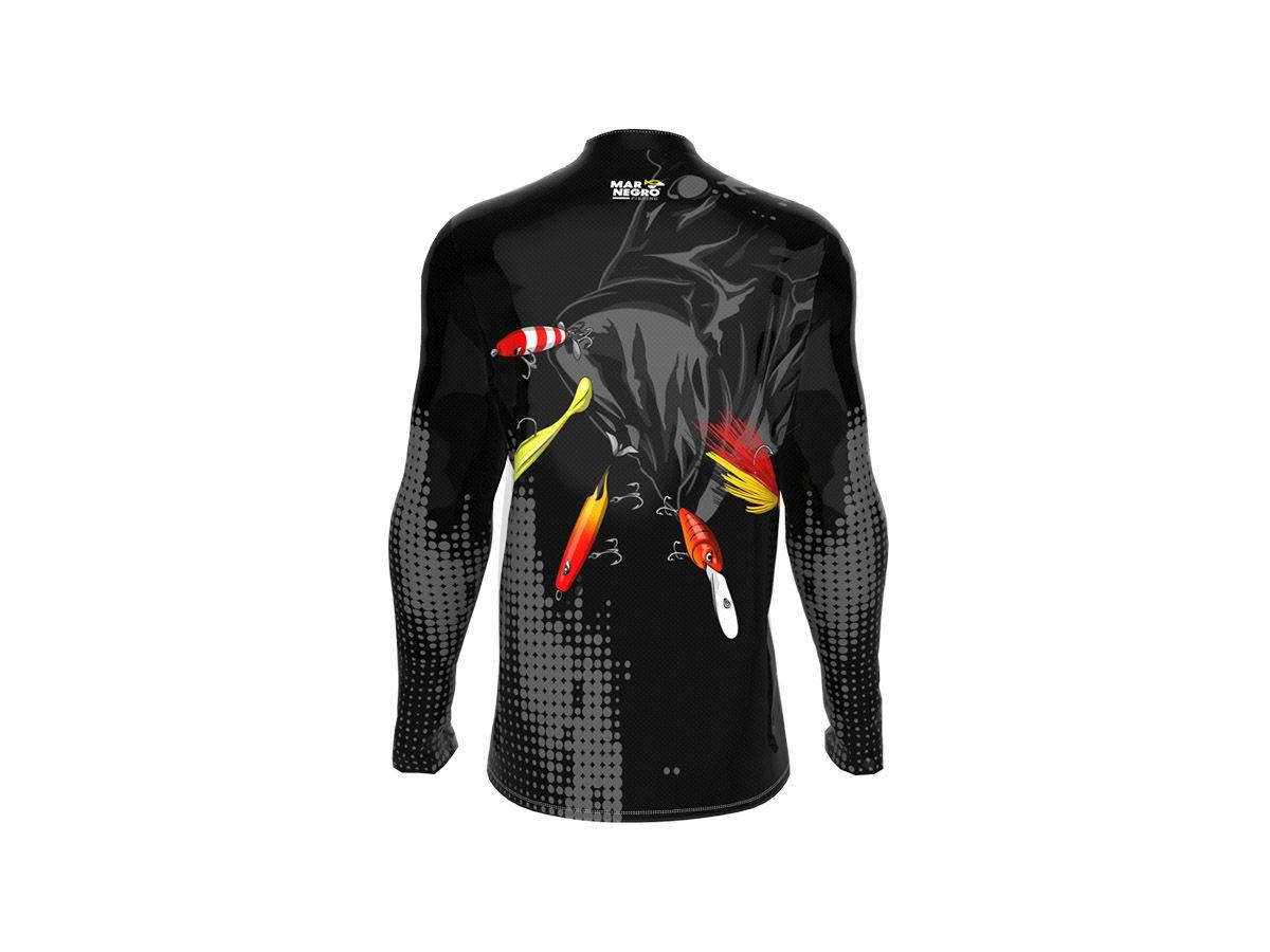 Camiseta Pesca Mar Negro Fishing 2020 (Várias Estampas)  - Comprando & Pescando