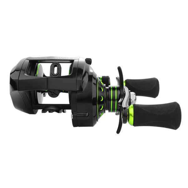 Carretilha Albatroz Black Snake Green (Direita ou Esquerda)  - Comprando & Pescando