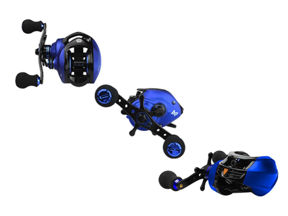 Carretilha Albatroz Coral Blue (Direita ou Esquerda)  - Comprando & Pescando