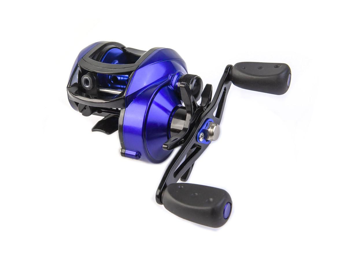 Carretilha de Pesca CMIK 8.1:1 Azul (80311)  - Comprando & Pescando