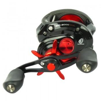 Carretilha Marine Sports Saga GTO 8000 SHI/SHIL  - Comprando & Pescando
