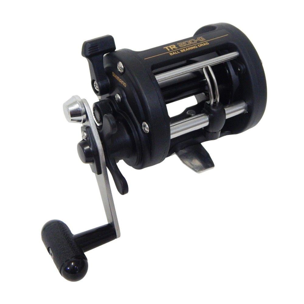 Carretilha Shimano Triton TR200G (Direita)  - Comprando & Pescando