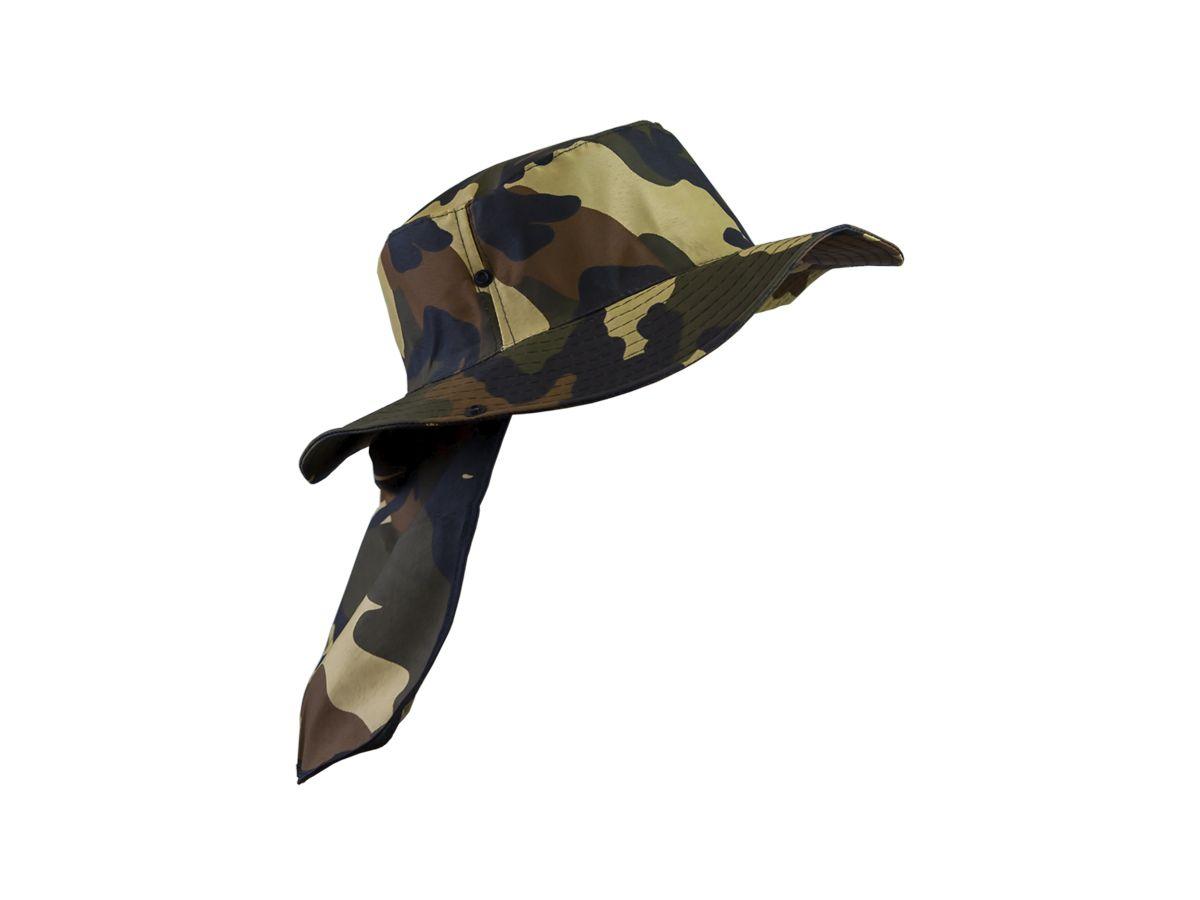 Chapéu Safari com Proteção de Pescoço  - Comprando & Pescando