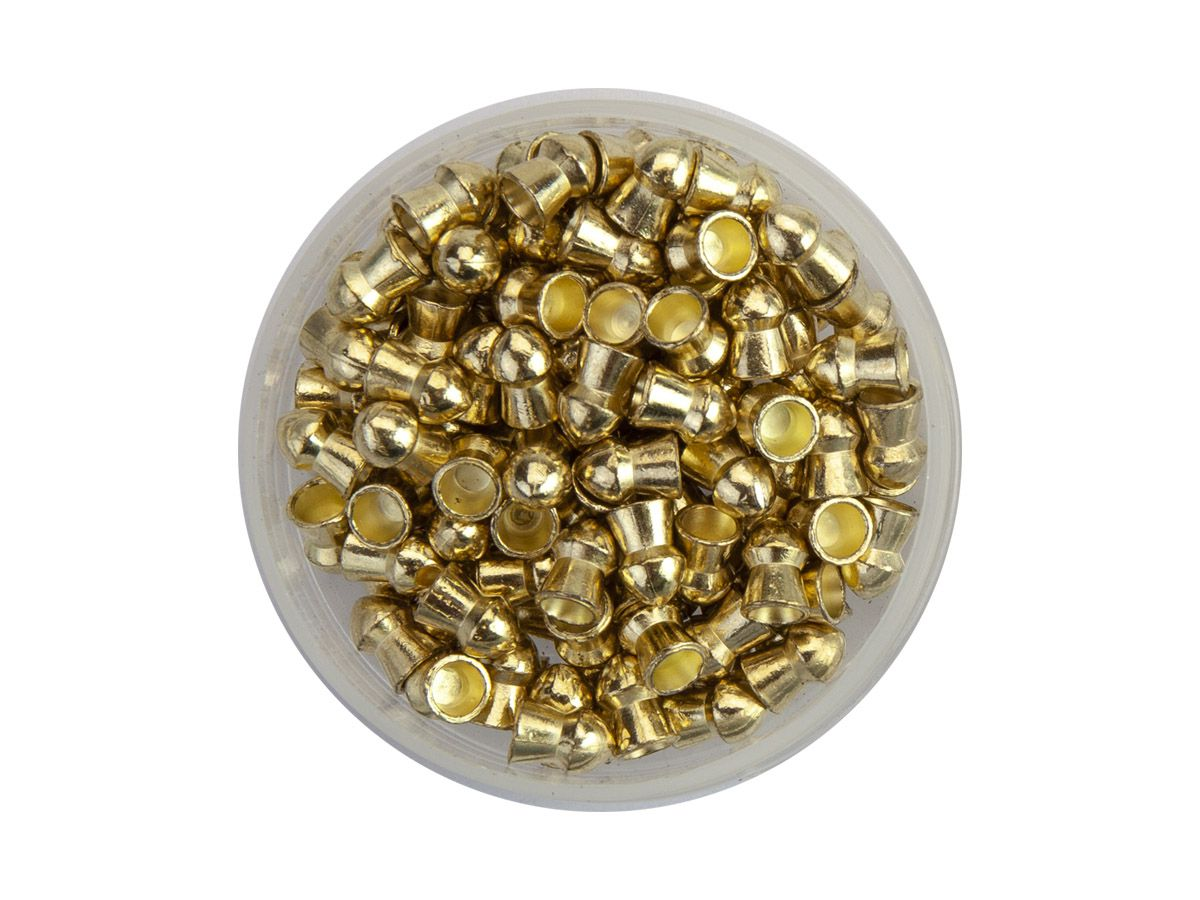 Chumbinho Technogun Sonic Gold 5.5mm (Pote c/ 125 un)  - Comprando & Pescando