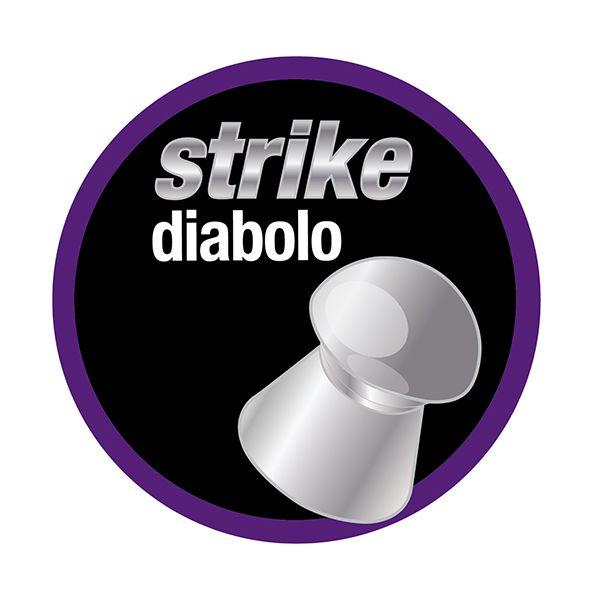 Chumbinho Technogun Strike Diabolo 5.5mm (Lata c/ 250 un)  - Comprando & Pescando