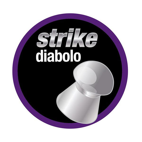 Chumbinho Technogun Strike Diabolo Master 4.5mm (Lata c/ 500 un)  - Comprando & Pescando