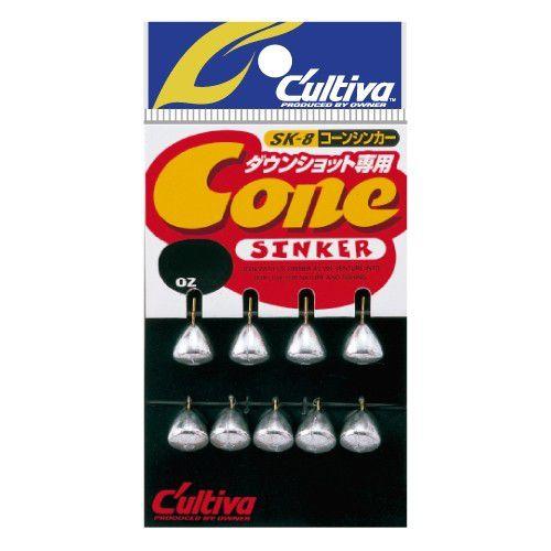 Chumbo Owner Cone Sinker Down Shot  - Comprando & Pescando