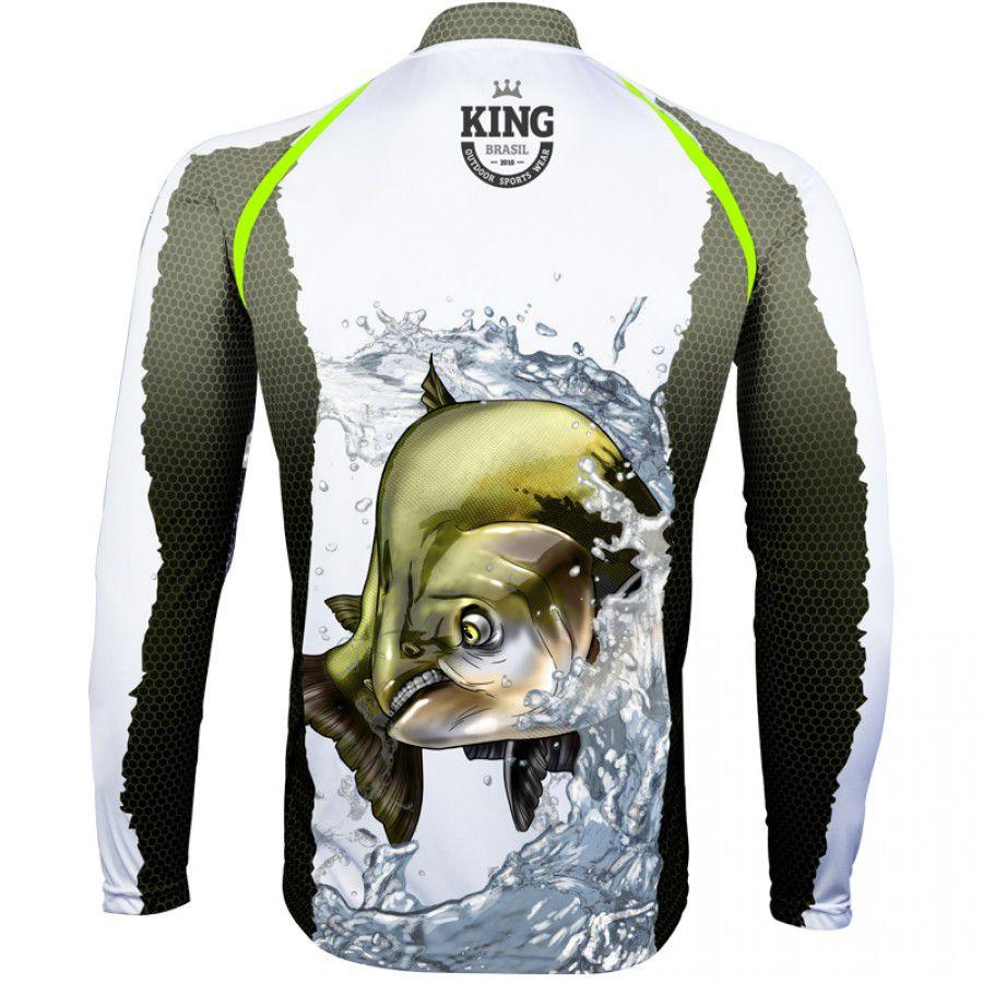 Camiseta King Sublimada Tamba (KFF67)  - Comprando & Pescando
