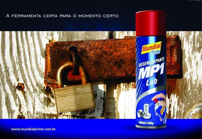 Desengripante Mundial Prime MP1 Lub (321ml)  - Comprando & Pescando