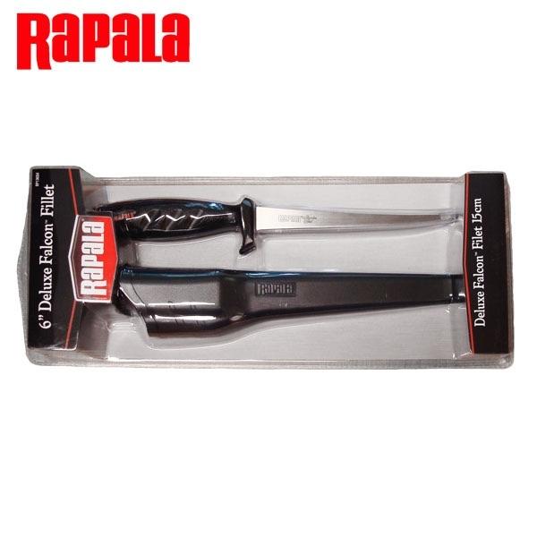 """Faca fileteira RAPALA 6"""" Deluxe Falcon  - Comprando & Pescando"""