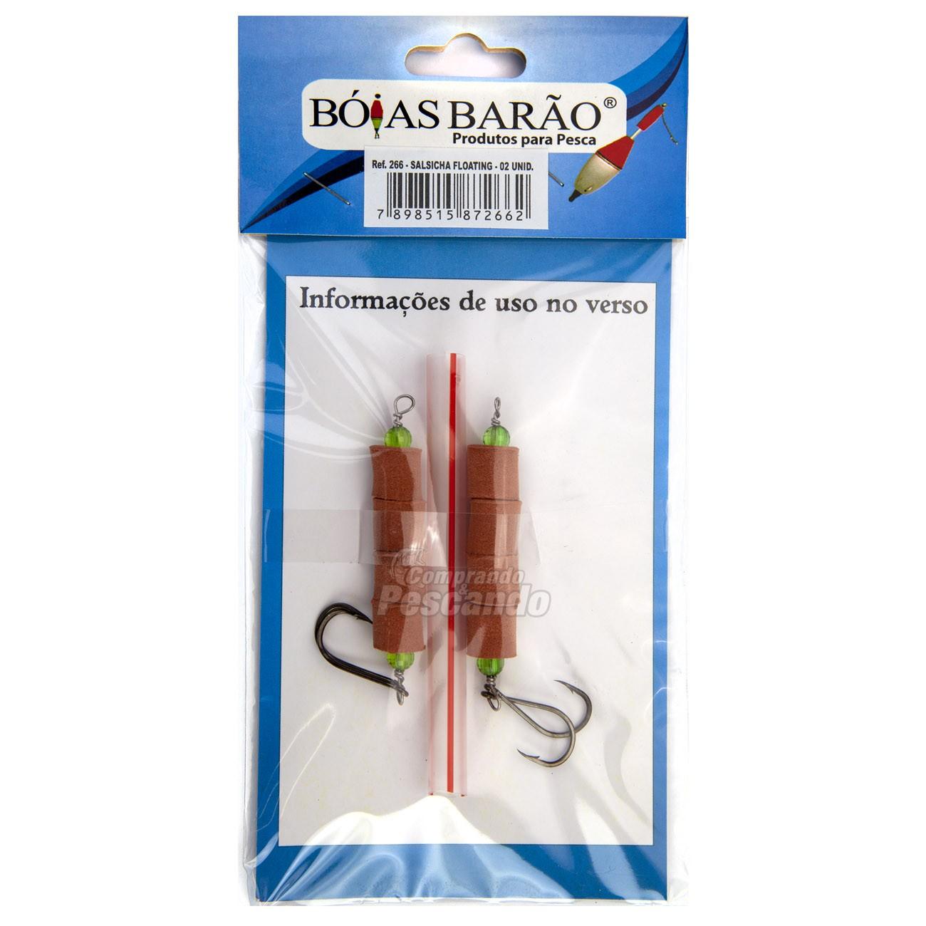 Flutuador de Salsicha Boias Barão  - Comprando & Pescando