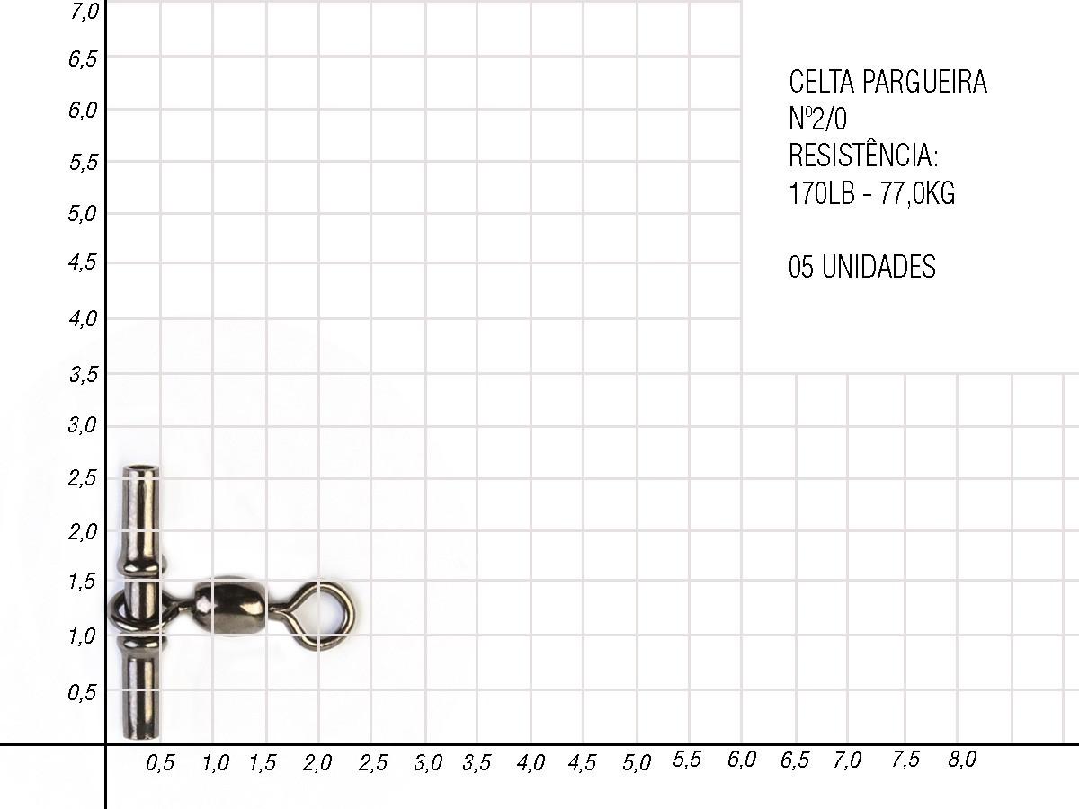 Girador com Luva Pargueira Celta  CT 1005  - Comprando & Pescando
