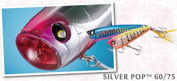 Isca Duel Silver Pop 60  - Comprando & Pescando