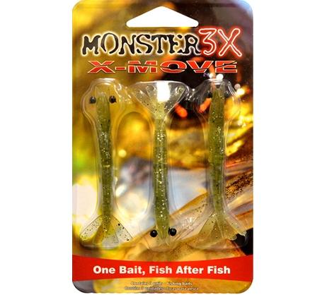 Isca X-Move Monster3X Tamanho 09cm  - Comprando & Pescando