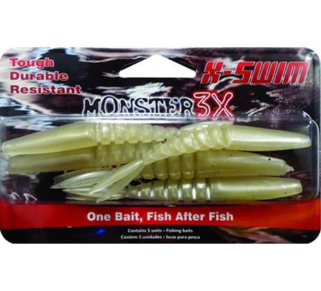 Isca X-Swim Monster3X Tamanho 09cm  - Comprando & Pescando